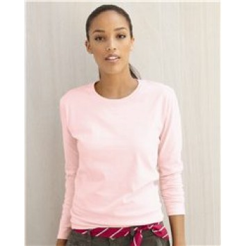 Hanes - Ladies' ComfortSoft Long Sleeve T-Shirt - 5580