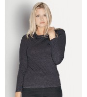 Bella - Missy Long Sleeve Crew Neck T-Shirt - 6450